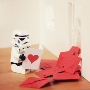 handle rejection like a stormtrooper
