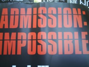 admission impossible